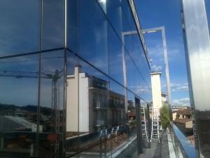 lavaggio vetri bergamo